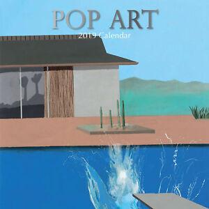 Arts & Antiques Range - Pop Art 2019 Square Wall Calendar 9781788382946