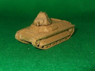 3D printed 1//72 scale World War 2 French Laffly W15T light artillery tractor