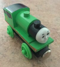 1992 Shining Time Wooden Thomas Train Percy! Flat Magnets & Staples! VGUC!