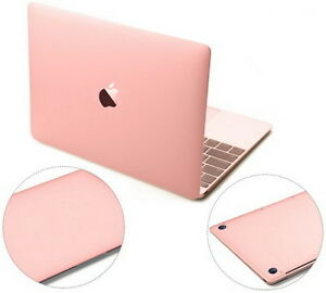 low priced 45235 e7e17 Details about Rose Gold 3M Skin Sticker Cover Palm-Rest Protector for Apple  MacBook 12 A1534