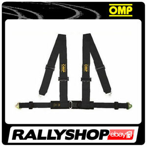 OMP-Racing-4M-Point-Harness-Road-Black-ECE-CHEAP-DELIVERY-Harness-Belts