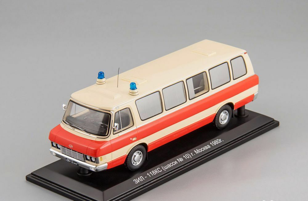 ZIL 118 KS (chassis number 10) Moscow 1980 DIP models 1 43 111906
