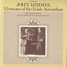 John Kimmel - John Kimmel - Virtuoso of the Irish Accordion [New CD]