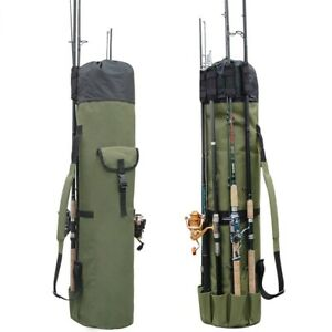 Fishing-Rod-Pole-Bag-For-Carrying-Outside-Mount-Folding-Travel-Camping-Storage