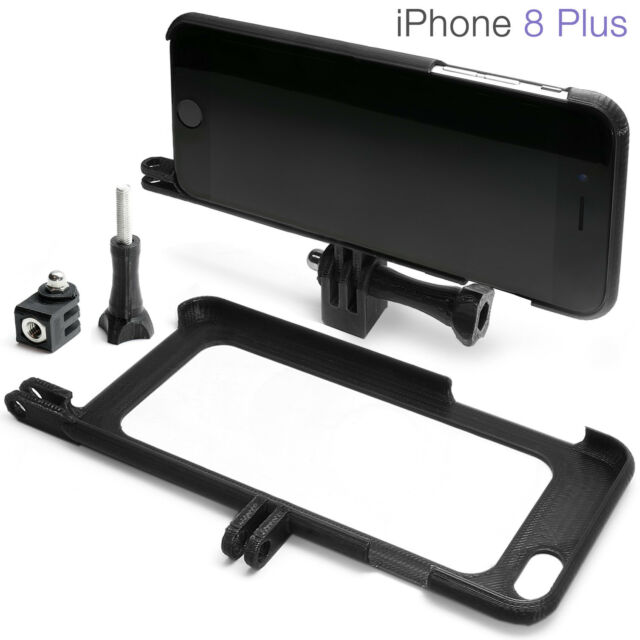 brand new ec6fa 00b5c Tripod Mount for iPhone 8 Plus Accessories GoPro Go Pro Adapter Case Bumper