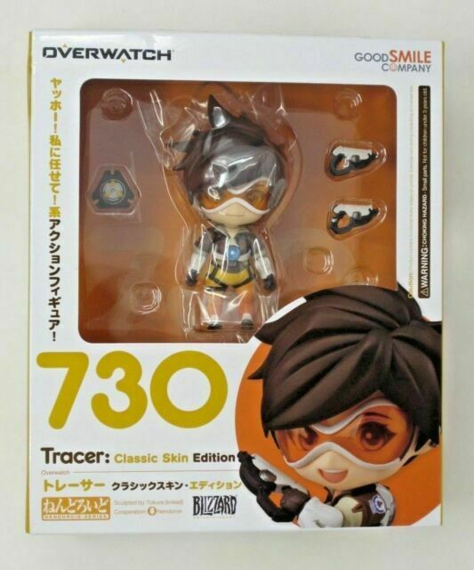 Authentic Figma Tracer Overwatch Good Smile Company Classic Skin Factory Sealed
