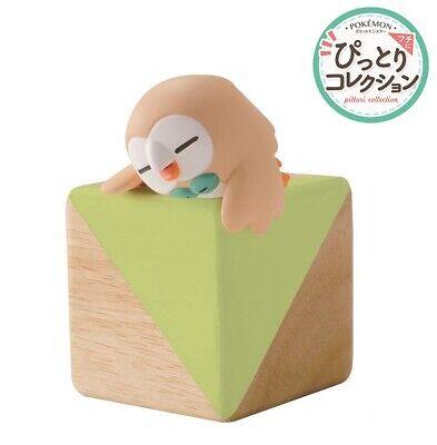 RE-MENT Pokemon Fuchipito Fuchi Ni Pittori Corner Edge Figure Rowlet Mokuroh NEW