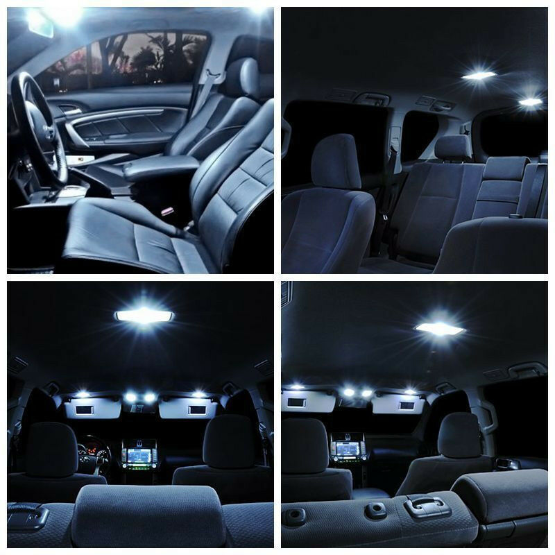 11pcs White Interior Led Light Package For 2002 2011