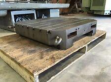 "Kearney Trecker CNC Machining Center Pallet 31.5""x31.5"" T-slot Table 6-158420"