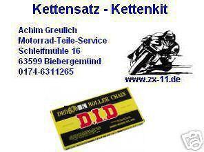 17-45-110 Kit zzr1100 DID 530 zvm-x kettensatz Kawasaki zzr 1100 zxt10d