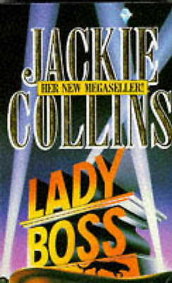 """""""AS NEW"""" Collins, Jackie, Lady Boss, Paperback Book"""