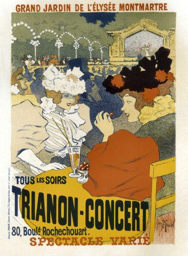 Vintage Francese Art Nouveau Shabby Chic Impronte /& Poster 145 A1,A2,A3,A4
