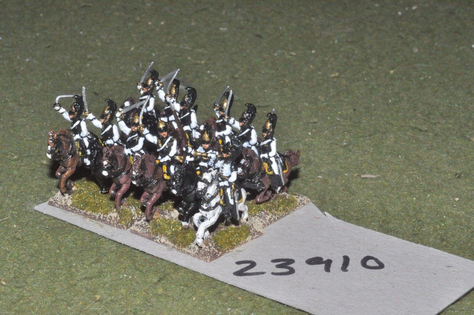 15mm napoleonic   russian - cuirassiers 12 figures - cav (23910)