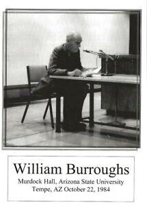 WILLIAM-BURROUGHS-ARIZONA-STATE-TEMPE-10-22-84-BEAT-WRITERS-PHOTO-POSTCARD-27