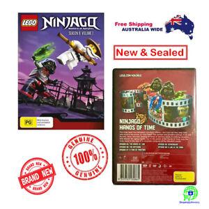 LEGO-Ninjago-Masters-of-Spinjitzu-Series-6-Vol-1-DVD-2017-New-amp-Sealed