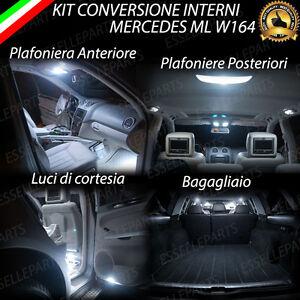 KIT-LED-INTERNI-MERCEDES-ML-W164-CONVERSIONE-COMPLETA-ULTRALUMINOSI-6000K