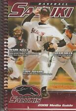 Saluki Siu 2008 Baseball Media Guide Southern Illinois U Carbondale Mo Valley