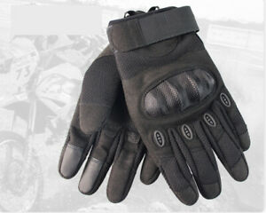 Summer-Motorcycle-Motorbike-Gloves-Winter-Knuckle-Protection-Carbon-Fiber-AU