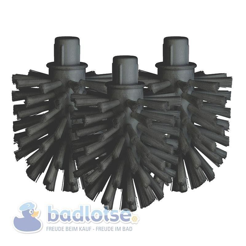 3x SMEDBO Ersatz-WC-Bürstenkopf schwarz Air Loft Cabin Home House Spa Ice H233N