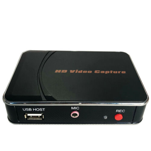 1080P HD Game Capture Card HDMI Video Recorder Mic for Xbox 360 One PS3 PS4 TV