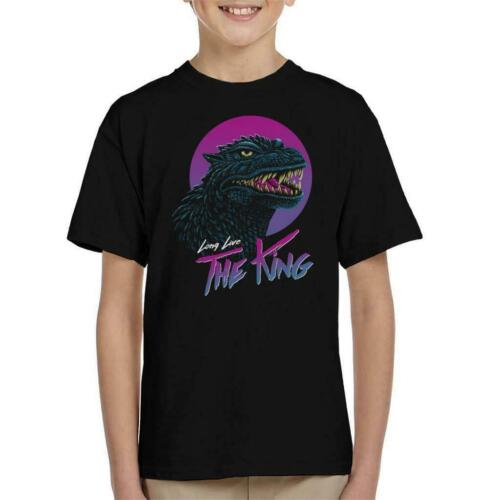 Long Live The King Godzilla Kid/'s T-Shirt