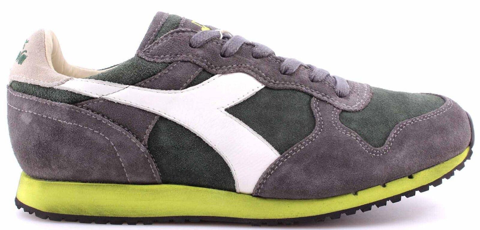 DIADORA HERITAGE Scarpe Sneakers Uomo Trident Vintage Foliage Green Castle Rock Vintage Trident 594130