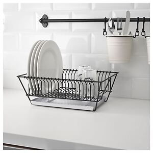 Image Is Loading IKEA FINTORP Dish Drainer Kitchen Drip Tray Black