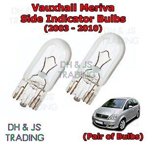 2x VW Lupo 6X1 6E1 Genuine Osram Original Front Indicator Light Bulbs Pair