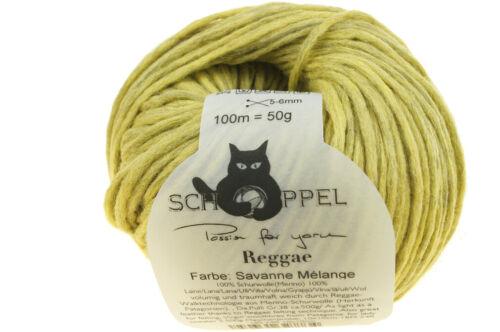 12,90€//100g Reggae Melange 50g Schoppel traumhaft weich Fb.0581M Savanne Mélange