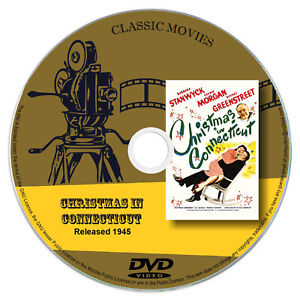 Christmas In Connecticut Dvd.Details About Christmas In Connecticut 1945 Barbara Stanwyck Comedy Romance Dvd