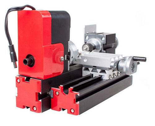 Multifunction DIY CNC Mini Wood Metal Lathe Machine 20000r//min Woodworking
