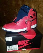premium selection 2f905 0f8c5 2016 Nike Air Jordan 1 Retro High OG SZ 10 David Letterman Crimson  555088-606