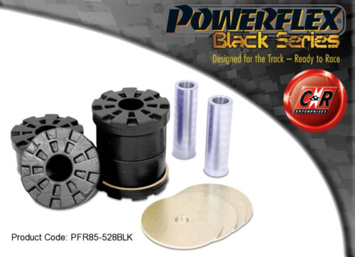 Audi S1 14 on Powerflex Black Rear Subframe Rear Mounting Bushes PFR85528BLK