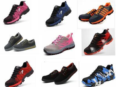 Arbeitsschuhe S3 Sicherheitsschuhe Atmungsaktiv Schutzkappe Stahlkappe Sneaker In Vielen Stilen