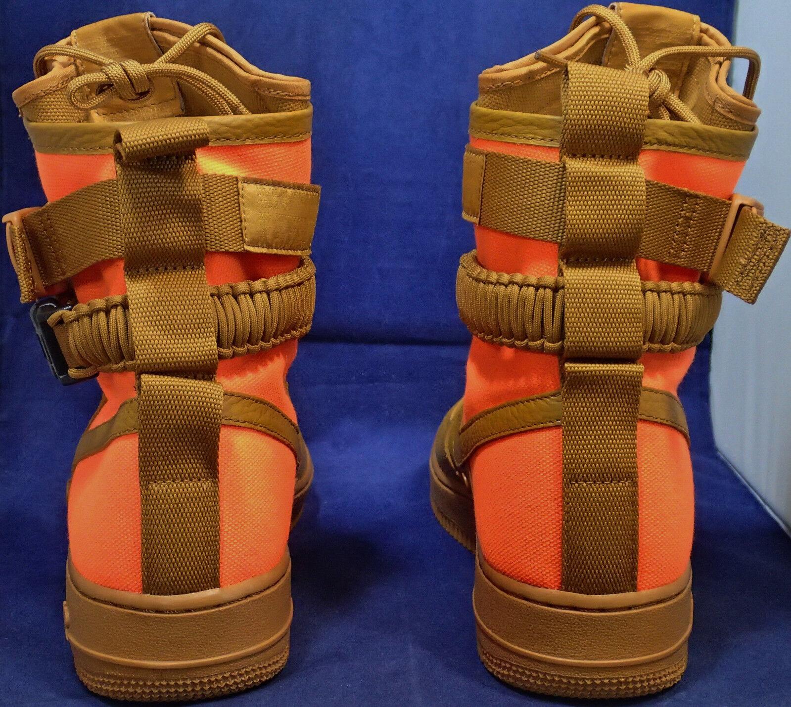 Nike SF Air Force 1 QS Desert Ochre marrone Orange ) AF1 SZ 8.5 ( 903270-778 ) Orange b68203