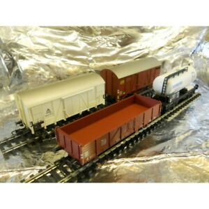 Liliput-240009-Scandanavian-Freight-Set-4-Wagons-in-the-Set-1-87-H0-Scale