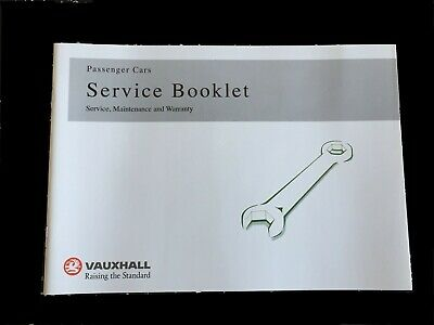 Genuine-vauxhall-servizio-la Storia-libro-for-benzina - And-diesel Non Duplica Oem-ll-service-history-book-for-petrol-and-diesel Not Duplicate Oem It-it Mostra Il Titolo Originale