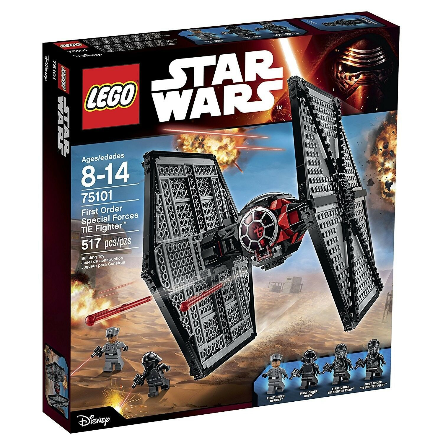 LEGO STAR WARS   75101 First Order Special Forces TIE Fighter  BNIB NEW SEALED✔