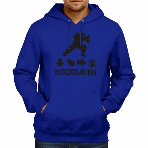 Hadouken Ryu Street Fighter Ken Unisex Pullover Hoodie Jacket Hooded Sweater