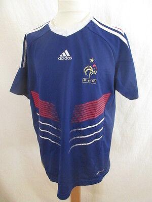 Camiseta de Fútbol Vintage Equipo de Francia Adidas Azul Tamaño 12 Año | eBay