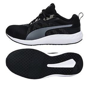 6fb9ebd097e4 PUMA Men Flare 2 Training Shoes Black White Running GYM Sneakers ...