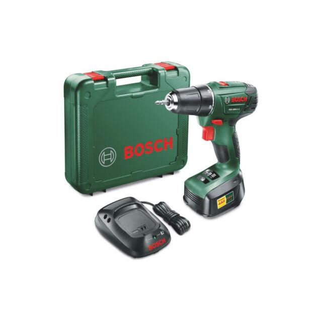 Bosch Cordless Drill Driver PSR 1800 LI-2 18V 1.5Ah Li-ion