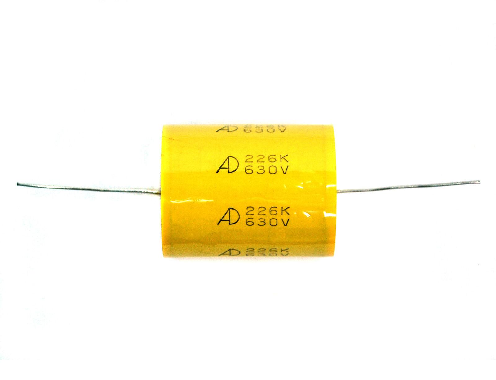 2pc MPT Metallized Polypropylene Film Capacitor 22uF 630V K ±10/% Tube Amp 300B