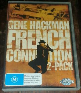 French Connection / French Connection 2 (DVD, 2007, 2-Disc Set) - FREE POST