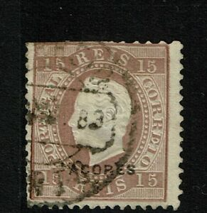 Azores-SC-33b-Used-Hinge-Remnant-some-minor-toning-perf-12-5-S6154