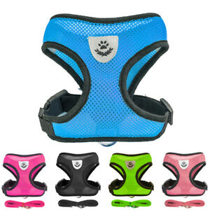 Breathable-Dog-Leash-Pet-Harness-Puppy-Cat-Vest-Collar-For-Chihuahua-Pug-Bulldog