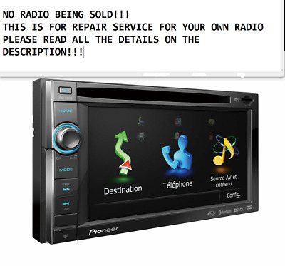 PIONEER AVIC-X920BT TOUCH SCREEN TOUCH PANEL REPAIR SERVICE