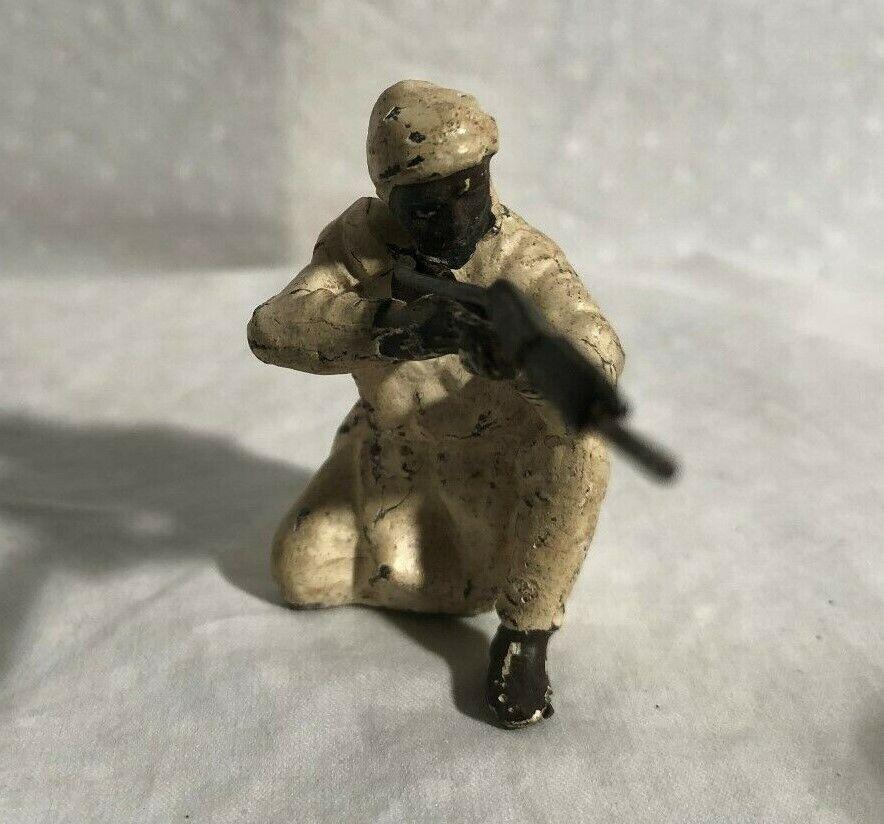 Lineol Afrikanisch Wüsten Kampfflieger Spielzeug Komposition Soldat 7cm Größe