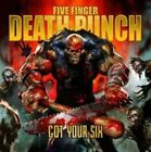 Got Your Six by Five Finger Death Punch (CD, Sep-2015, Eleven Seven)