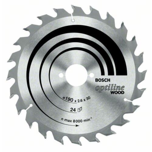Bosch Ø 160 mm cercle Lame De Scie Optiline Wood pour Handkreissäge